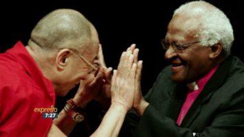 Dalai Lama with Desmond Tutu