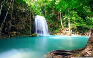 Tropical waterfal