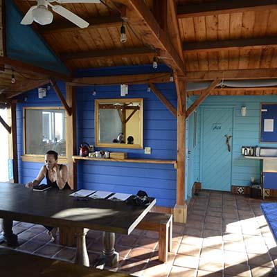 dining room at Manzanita Village