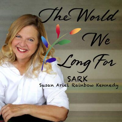 Portrait of SARK (Susan Ariel Rainbow Kennedy)