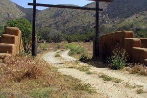 Manzanita Village gate