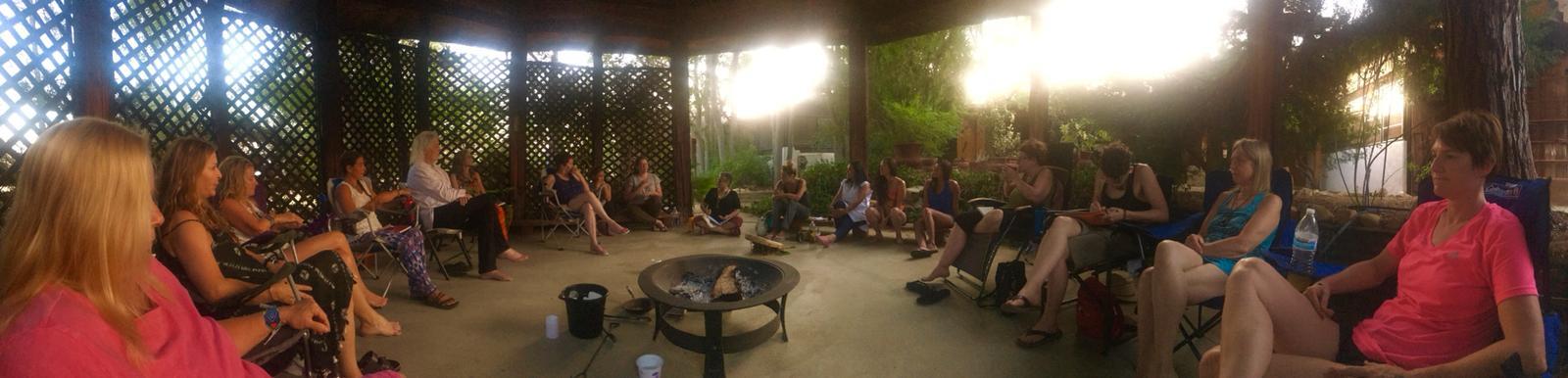 gathering at Manzanita