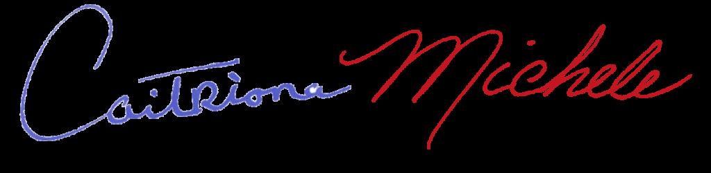 signature caitriona michele