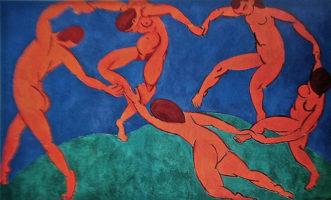 Matisse. Dancing figures